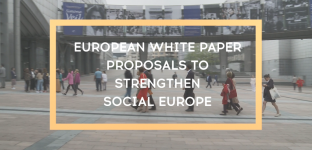 European white paper : 10 proposals to strengthen social Europe